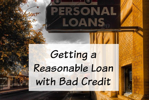 I have bad credit and need a loan