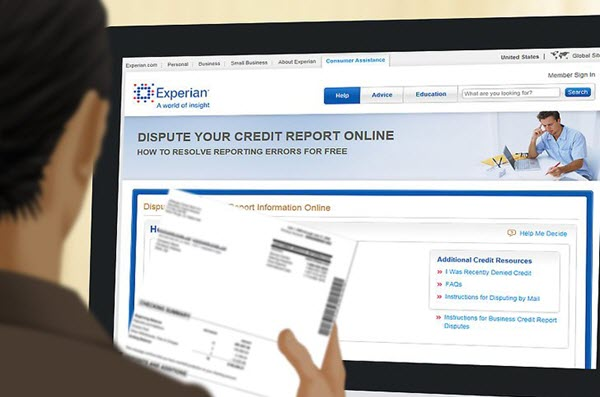 Credit reporting services