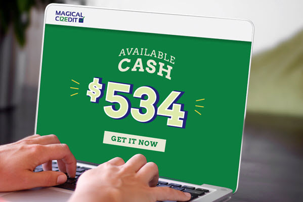 Magical Credit personal loans are provided to low-income households