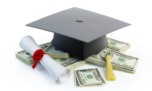College loans are offered with interest rates and terms for most borrowers