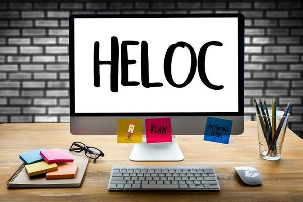 HELOC is a way to collect some extra money to similar to a home equity loan