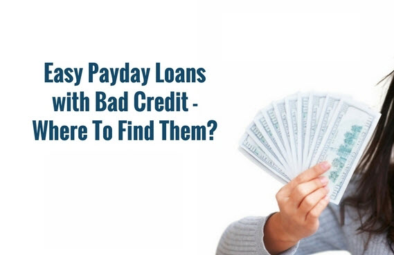 Easy payday loans are different in each state of the US